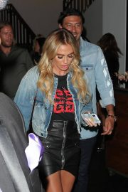 Petra Ecclestone and Sam Palmer at Craig's Restaurant in West Hollywood 2018/06/15 16