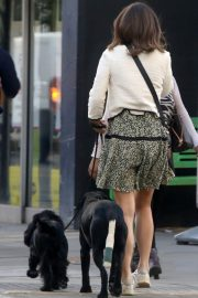 PIPPA MIDDLETON Out with Her Dog in London 05/12 4