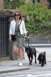 PIPPA MIDDLETON Out with Her Dog in London 05/12 10