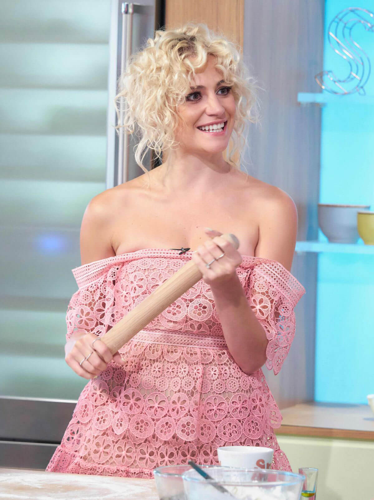Pixie Lott at Sunday Brunch Show in London 2018/07/15 1
