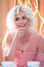 Pixie Lott at Sunday Brunch Show in London 2018/07/15 16