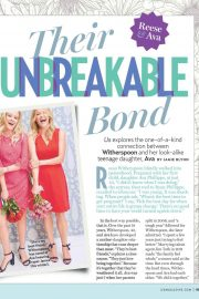 Reese Witherspoon and Ava Phillippe in US Weekly, July 2018 4