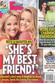 Reese Witherspoon and Ava Phillippe in US Weekly, July 2018 5