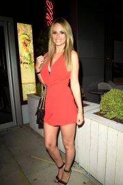 Rhian Sugden at Menagerie Bar and Restaurant in Manchester 2018/07/21 2