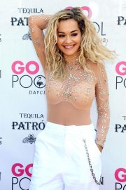 Rita Ora Performs at Flamingo Go Pool in Las Vegas 2018/07/13 1