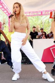 Rita Ora Performs at Flamingo Go Pool in Las Vegas 2018/07/13 5
