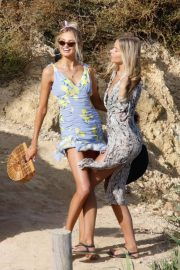 Romee Strijd Out for Lunch at Amante Beach Club in Ibiza 2018/06/29 5