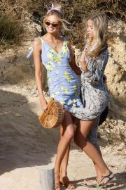 Romee Strijd Out for Lunch at Amante Beach Club in Ibiza 2018/06/29 6