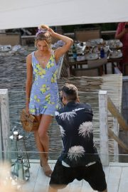 Romee Strijd Out for Lunch at Amante Beach Club in Ibiza 2018/06/29 8