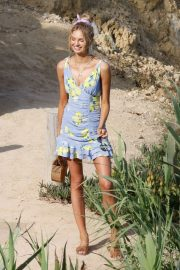Romee Strijd Out for Lunch at Amante Beach Club in Ibiza 2018/06/29 10