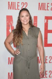 Ronda Rousey at Mile 22 Photocall in Los Angeles 2018/07/28 2