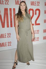 Ronda Rousey at Mile 22 Photocall in Los Angeles 2018/07/28 3