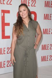 Ronda Rousey at Mile 22 Photocall in Los Angeles 2018/07/28 4