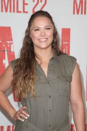 Ronda Rousey at Mile 22 Photocall in Los Angeles 2018/07/28 5