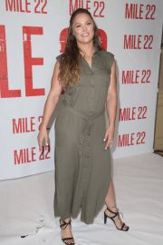 Ronda Rousey at Mile 22 Photocall in Los Angeles 2018/07/28 7