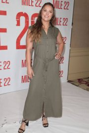 Ronda Rousey at Mile 22 Photocall in Los Angeles 2018/07/28 8