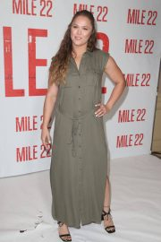 Ronda Rousey at Mile 22 Photocall in Los Angeles 2018/07/28 10