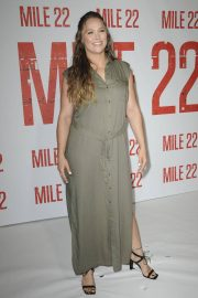 Ronda Rousey at Mile 22 Photocall in Los Angeles 2018/07/28 12