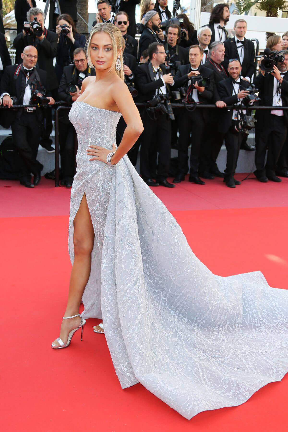 Rose Bertram at Capharnaum Premiere at 2018 Cannes Film Festival 2018/05/17 1