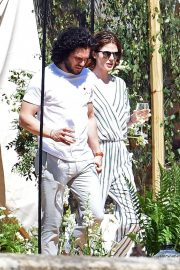 Rose Leslie and Kit Harington Out in Aberdeen 2018/06/24 2