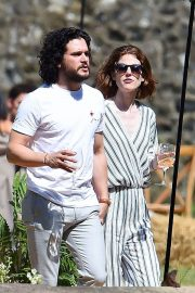 Rose Leslie and Kit Harington Out in Aberdeen 2018/06/24 3