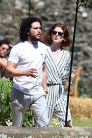 Rose Leslie and Kit Harington Out in Aberdeen 2018/06/24 4