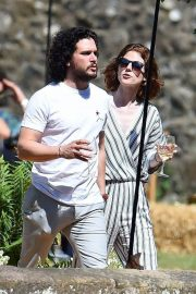 Rose Leslie and Kit Harington Out in Aberdeen 2018/06/24 7