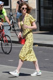 Rose Leslie Out and About in London 2018/07/02 15