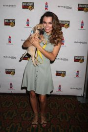 Samantha Barks at 20th Annual Broadway Barks Animal Adoption Event in New York 2018/07/14 1