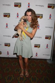Samantha Barks at 20th Annual Broadway Barks Animal Adoption Event in New York 2018/07/14 2