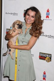 Samantha Barks at 20th Annual Broadway Barks Animal Adoption Event in New York 2018/07/14 3