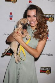 Samantha Barks at 20th Annual Broadway Barks Animal Adoption Event in New York 2018/07/14 4