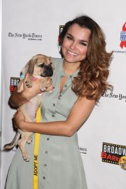 Samantha Barks at 20th Annual Broadway Barks Animal Adoption Event in New York 2018/07/14 5