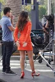 Sarah Shahi on the Set of Extra in Los Angeles 2018/05/29 6