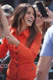 Sarah Shahi on the Set of Extra in Los Angeles 2018/05/29 12