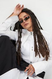 Sasha Lane in Who What Wear, June 2018 1