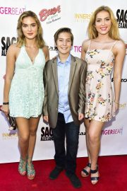 Saxon Sharbino at Sage Launch Party Co-hosted by Tiger Beat at El Rey Theatre in Los Angeles 2018/07/14 1