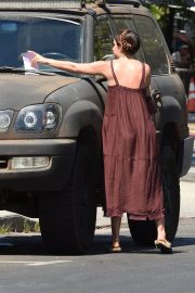 Scout LaRue Willis Gets a Parking Ticket in Los Angeles 2018/07/12 9