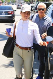 Selma Blair in Riding Gear Out in Los Angeles 2018/07/05 1