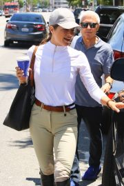 Selma Blair in Riding Gear Out in Los Angeles 2018/07/05 2