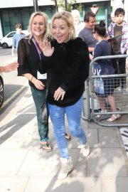 Sheridan Smith Arrives at Chris Evans Breakfast Show in London 2018/06/29 2