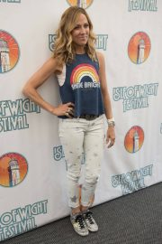 Sheryl Crow on Backstage at 2018 Isle of Wight Festival 2018/06/24 4