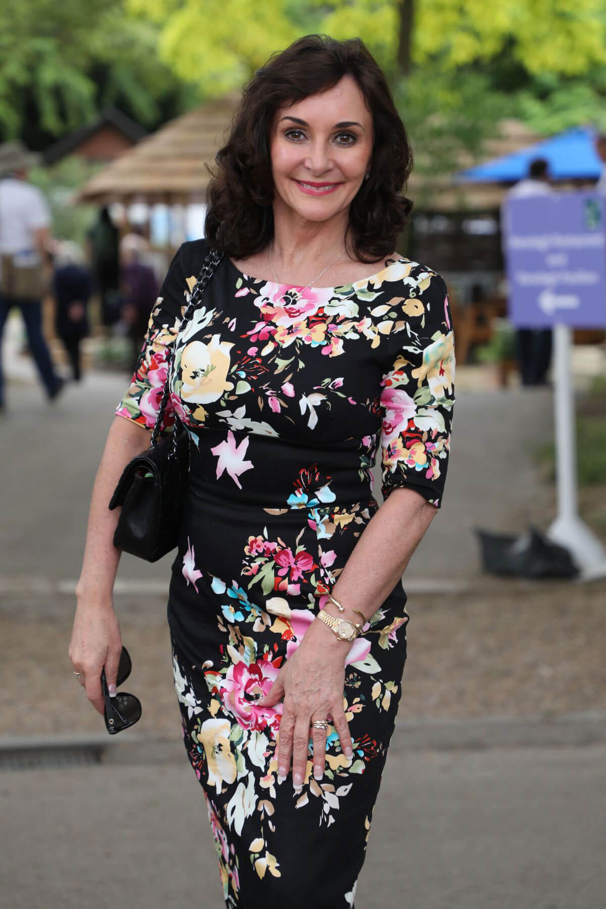 Shirley Ballas at Chelsea Flower Show in London 2018/05/21 1