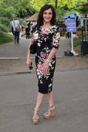 Shirley Ballas at Chelsea Flower Show in London 2018/05/21 2
