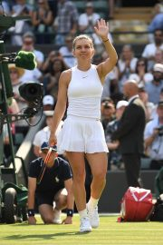 Simona Halep at Wimbledon Tennis Championships in London 2018/07/05 3