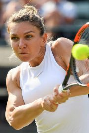 Simona Halep at Wimbledon Tennis Championships in London 2018/07/05 9