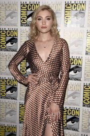 Skyler Samuels at The Gifted Photocall at Comic-con in San Diego 2018/07/21 1