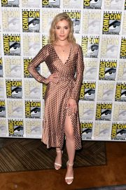 Skyler Samuels at The Gifted Photocall at Comic-con in San Diego 2018/07/21 6