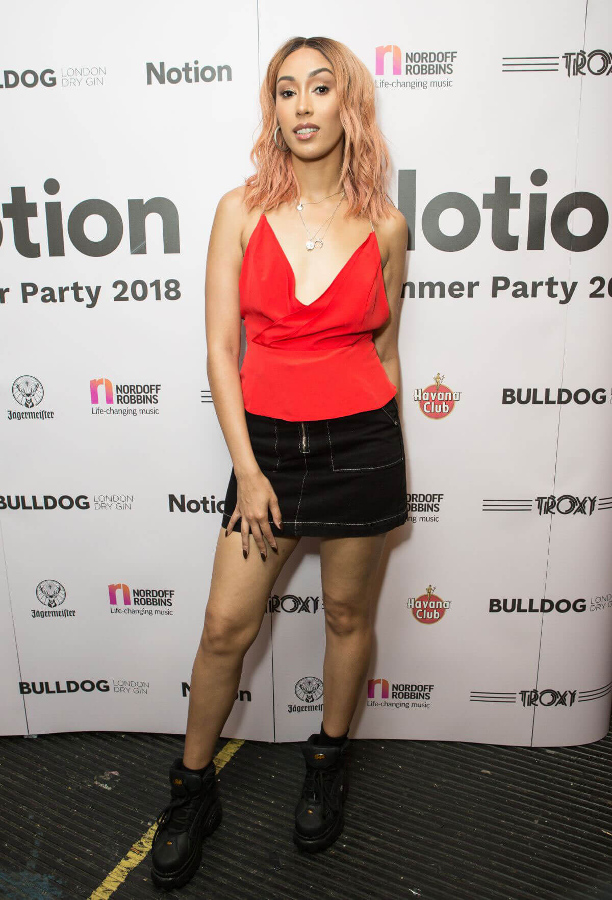 Snoochie Shy at Notion Magazine Summer Party 2018 in London 2018/07/27 1