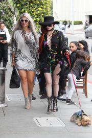 Sophia Vegas and Phoebe Price Out for Lunch in Beverly Hills 2018/05/20 2